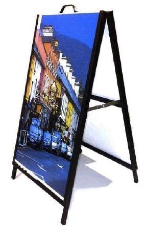Photo Graphique MF impression numérique présentoirs Montreal Laval