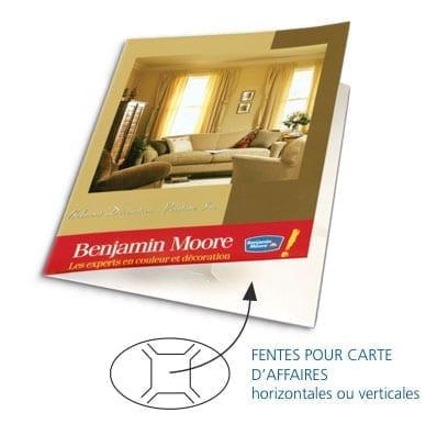 Photo Graphique MF Impression numérique Montreal Laval Pochette de presse